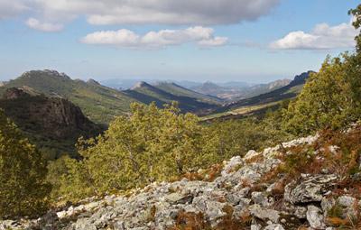 Natuur, landschap, las Villuercas, Extremadura