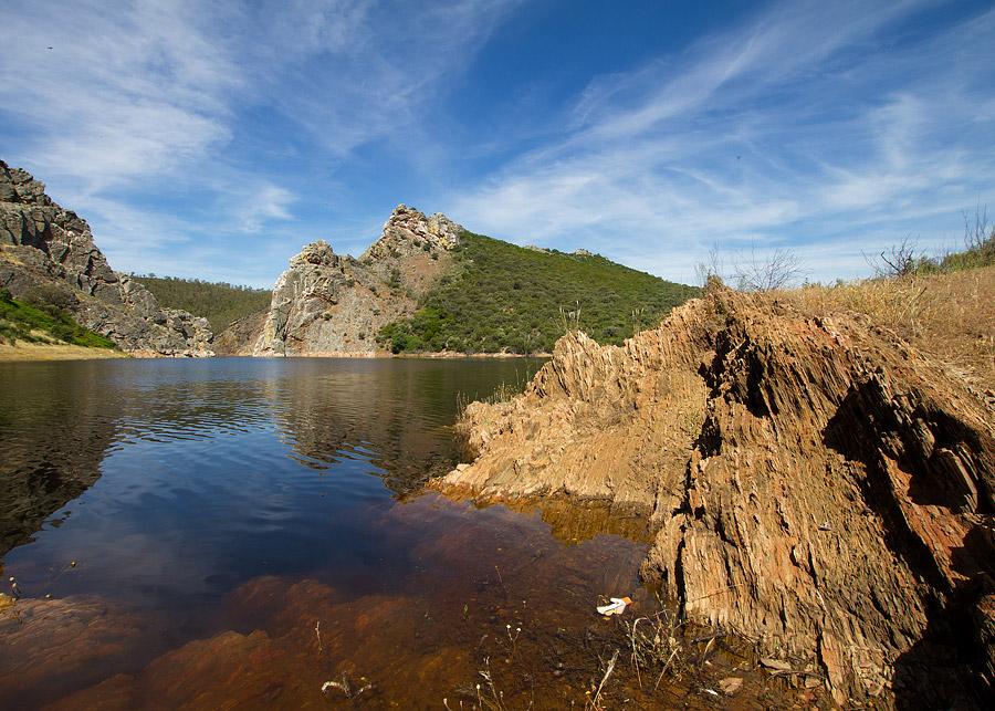 Stuwmeer van de Taag bij Canchos de Ramiro